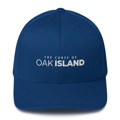 The Curse of Oak Island Blue Embroidered Hat