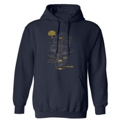 The Curse of Oak Island Money Pit Fleece Hooded Sweatshirt