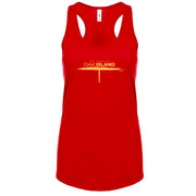 The Curse of Oak Island Women's Racerback Tank Top