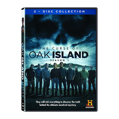 The Curse of Oak Island Season 1 DVD