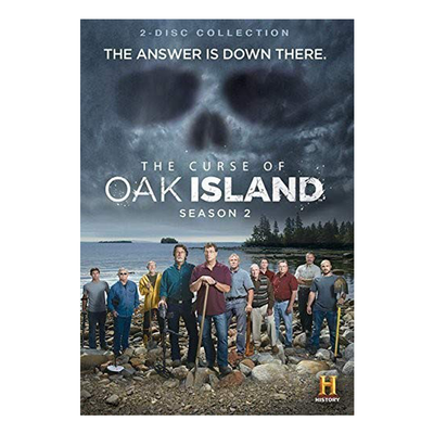 The Curse of Oak Island Season 2 DVD