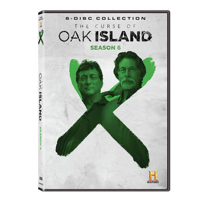 The Curse of Oak Island Season 6 DVD