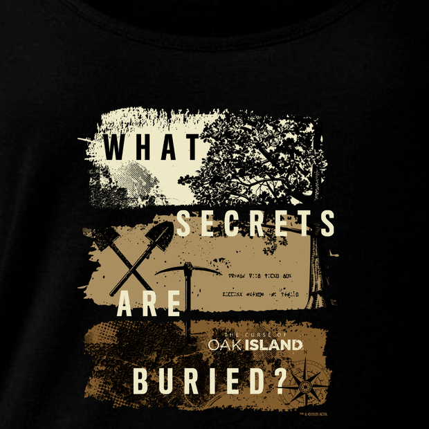 The Curse of Oak Island What Secrets Are Buried? Women's Relaxed Scoop Neck T-Shirt