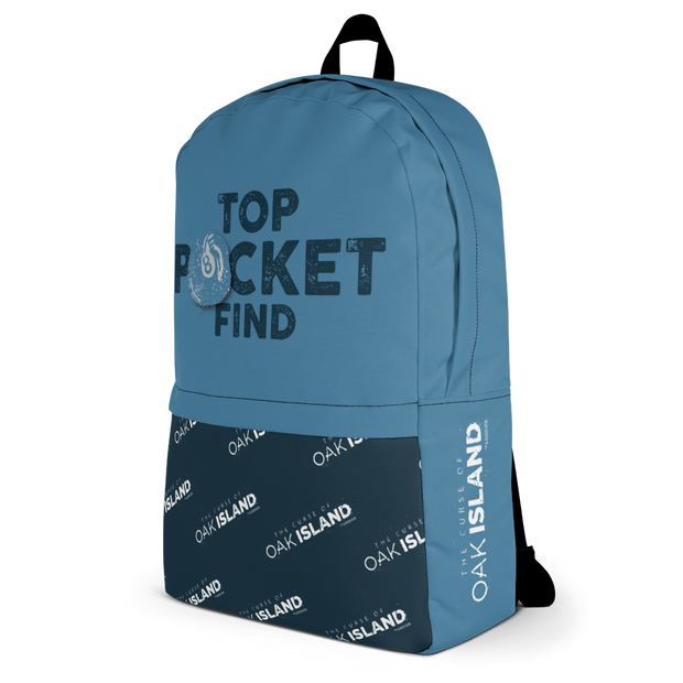 The Curse of Oak Island Top Pocket Premium Backpack