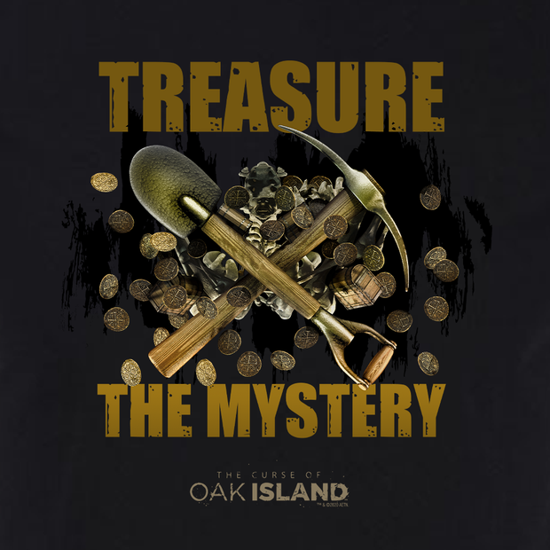 The Curse of Oak Island Treasure The Mystery Adult Short Sleeve T-Shirt