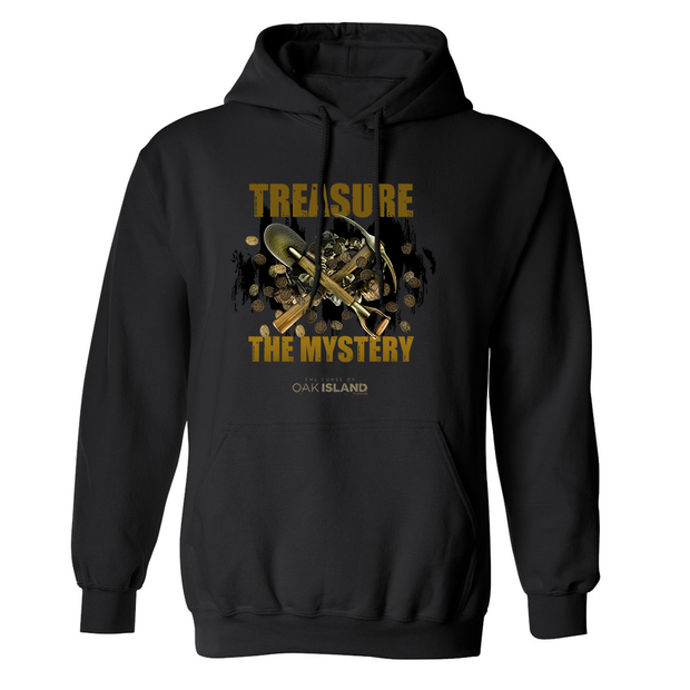 The Curse of Oak Island Treasure The Mystery Fleece Hooded Sweatshirt