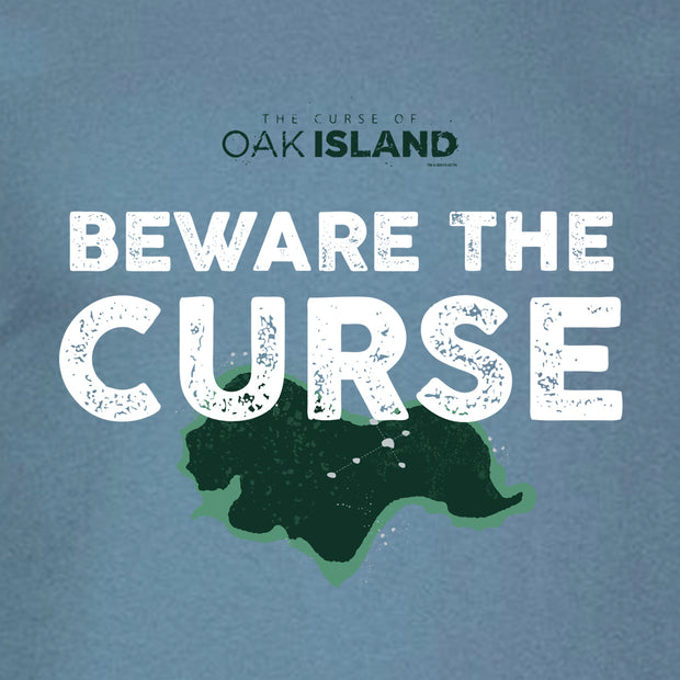 The Curse of Oak Island Beware the Curse Men's Short Sleeve T-Shirt