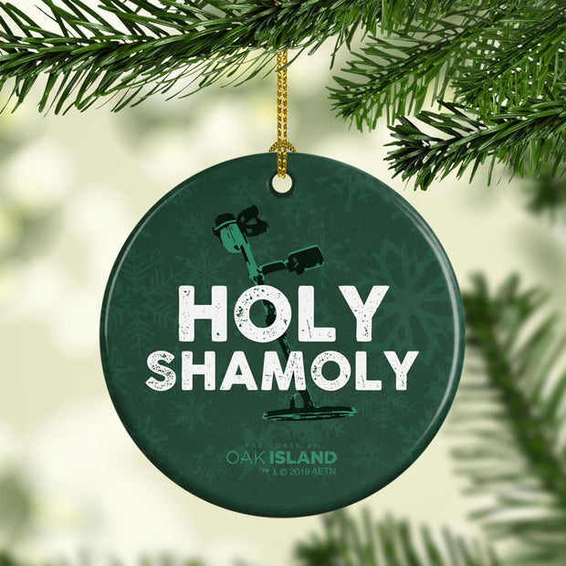 The Curse of Oak Island Holy Shamoly Double-Sided Ornament