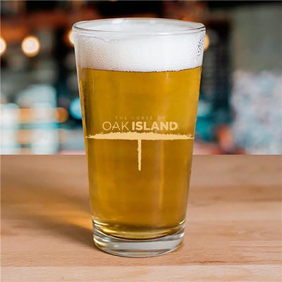 The Curse of Oak Island 16oz Pint Glass