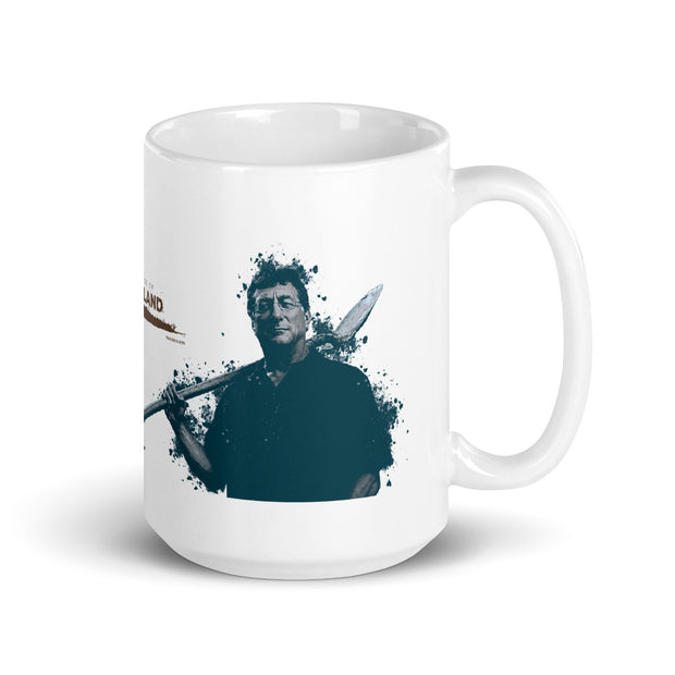 The Curse of Oak Island Rick and Marty White Mug