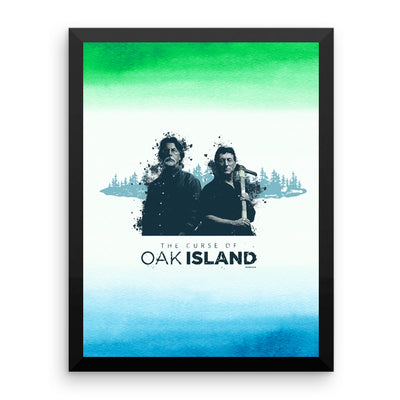 "The Curse of Oak Island Rick and Marty Poster - 16"" x 20"""