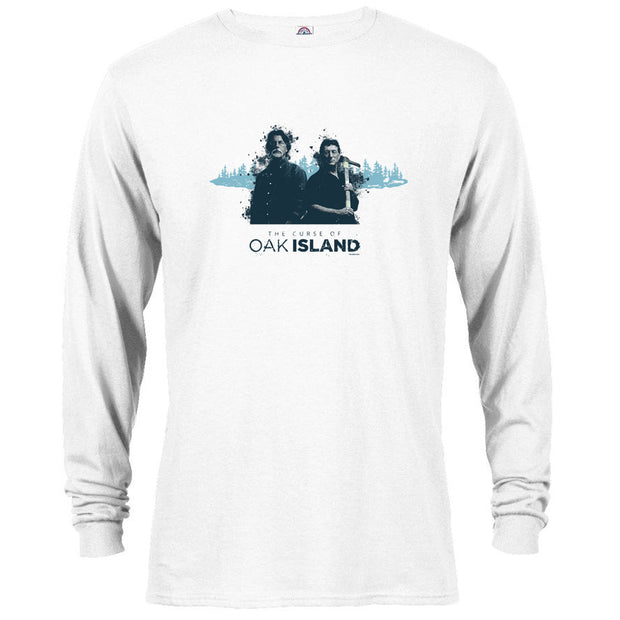The Curse of Oak Island Rick and Marty Long Sleeve T-Shirt