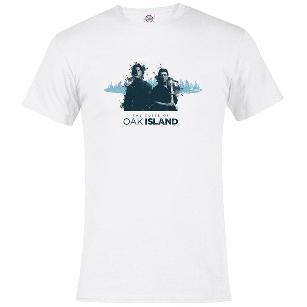 The Curse of Oak Island Rick and Marty Adult Short Sleeve T-Shirt