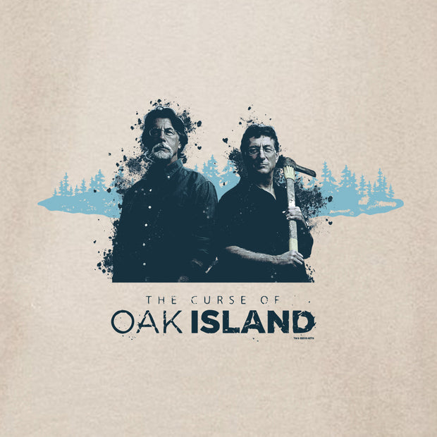 The Curse of Oak Island Rick and Marty Canvas Tote Bag