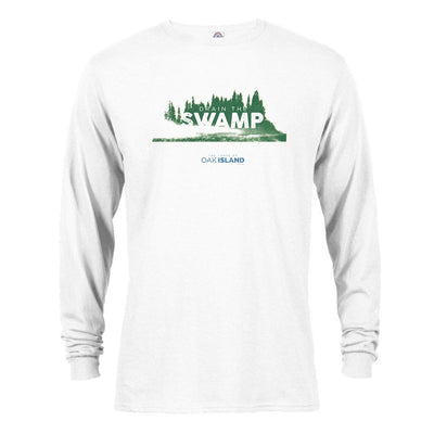 The Curse of Oak Island Drain the Swamp Long Sleeve T-Shirt