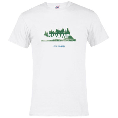 The Curse of Oak Island Drain the Swamp Men's Short Sleeve T-Shirt