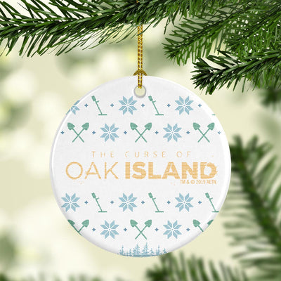 The Curse of Oak Island Holiday Double-Sided Ornament