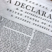 Declaration of Independence Print from Edes & Gill in Boston