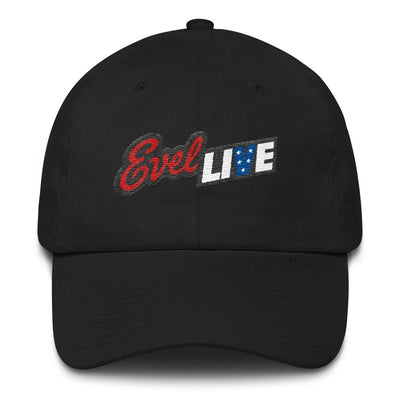 Evel Live Embroidered Hat