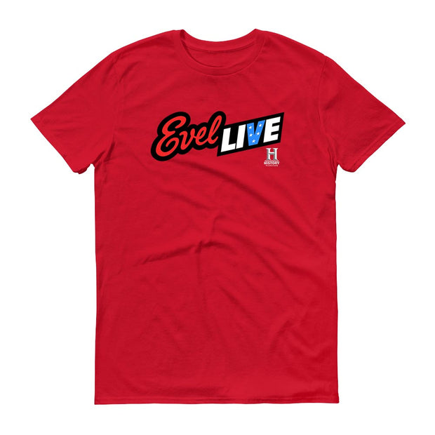 Evel Live Adult Short Sleeve T-Shirt