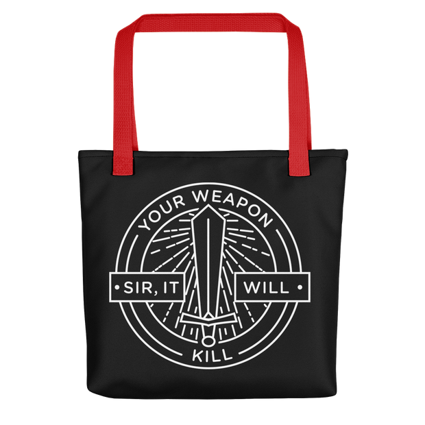 Forged in Fire It Will Kill Premium Tote Bag