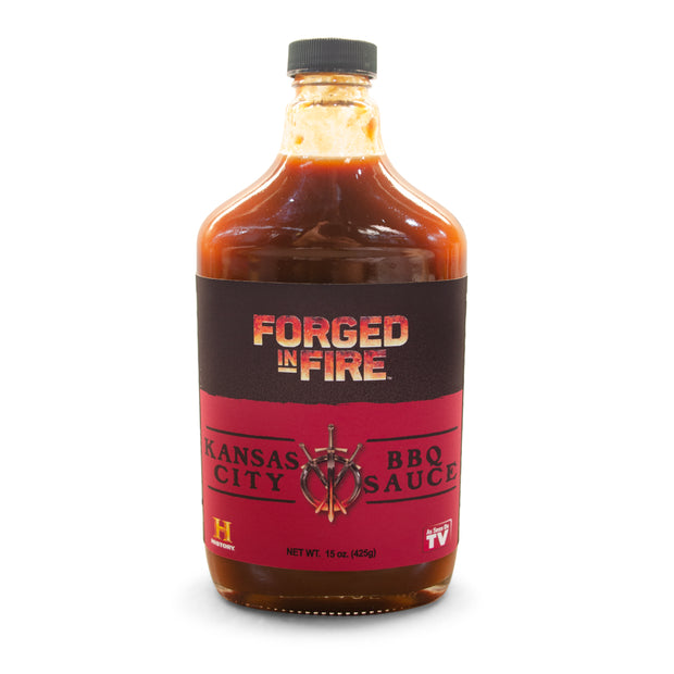 Forged in Fire BBQ Sauce - Kansas City 15oz (425g)