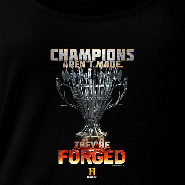 Forged in Fire Aren't Made They're Forged Women's Relaxed Scoop Neck T-Shirt