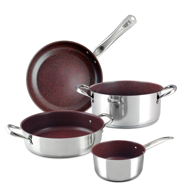 Forged in Fire 4pc Cookware Set