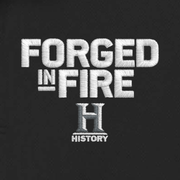 HISTORY Forged in Fire Series Logo Embroidered Polo