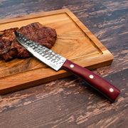 "Forged in Fire 4.75"" Jumbo Steak Knife 4pc Set"