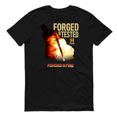 Forged in Fire Forged And Tested Adult Short Sleeve T-Shirt