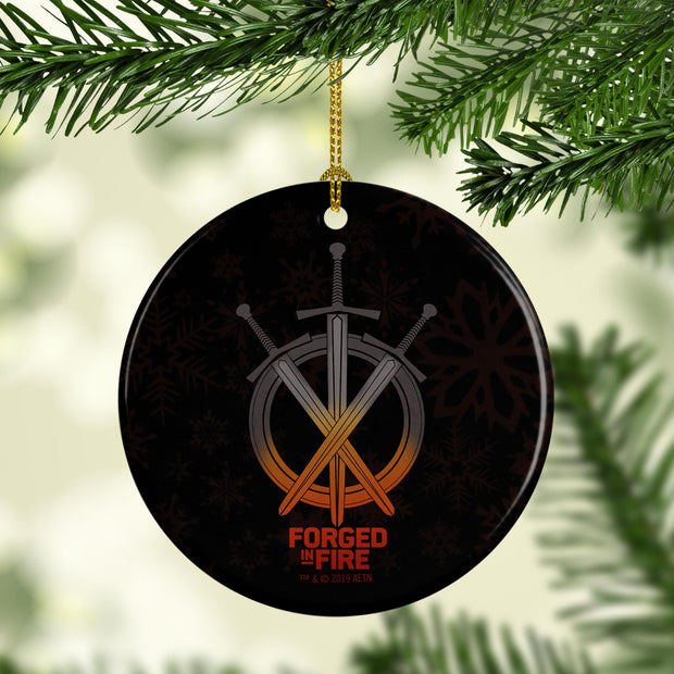 Forged in Fire Swords Double-Sided Ornament