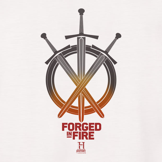 HISTORY Forged in Fire Series Swords Long Sleeve T-Shirt