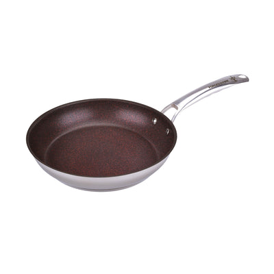 "Forged In Fire 10"" Stainless Nonstick Skillet"