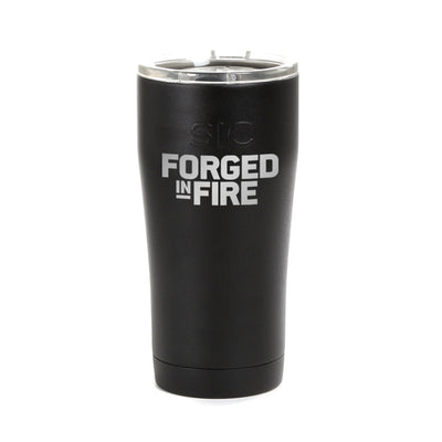 Forged in Fire Logo Laser Engraved SIC Tumbler