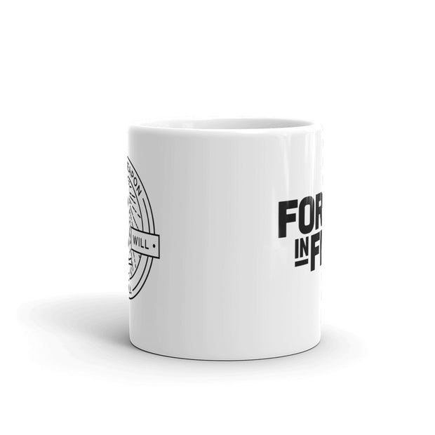 Forged in Fire It Will Kill White Mug