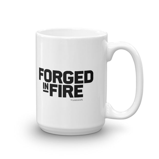 "Forged In Fire ""It Will Kill"" White Mug"