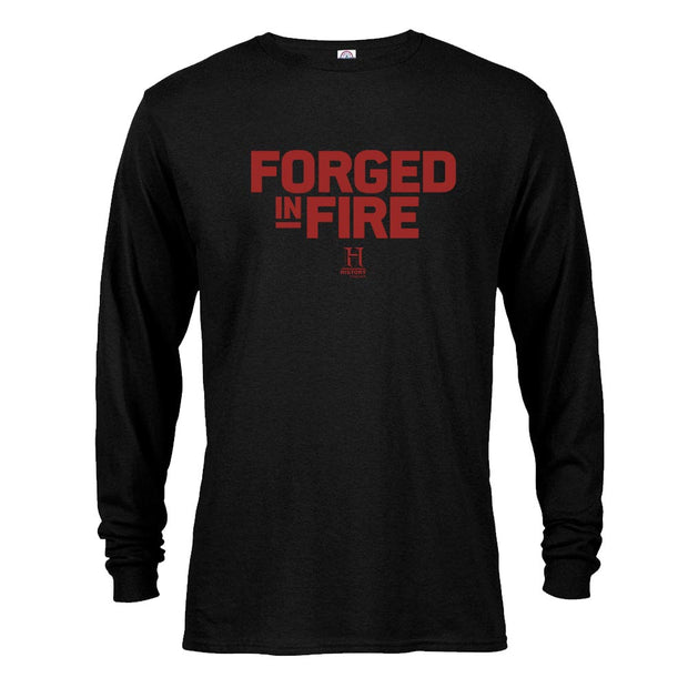 HISTORY Forged In Fire Series Logo Long Sleeve T-Shirt