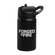 Forged in Fire Logo Laser Engraved SIC Water Bottle