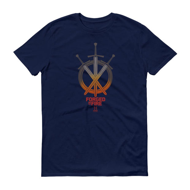HISTORY Forged In Fire Series Swords Men's Short Sleeve T-Shirt