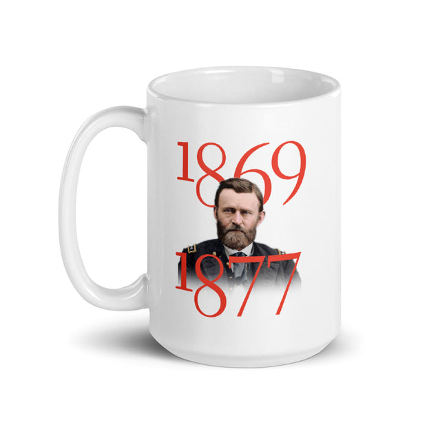 Ulysses S. Grant Art of War White Mug