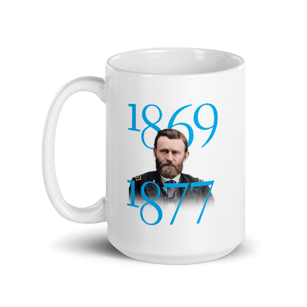 Ulysses S. Grant Fondness For War White Mug