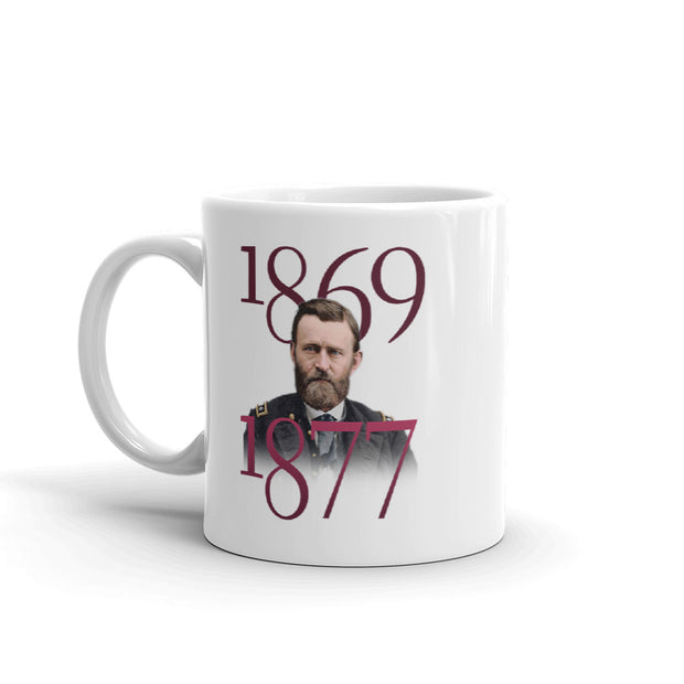 Ulysses S. Grant Two Commanders White Mug