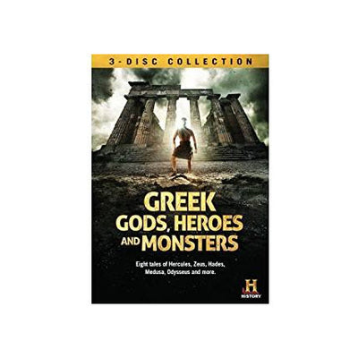 Greek Gods, Heroes And Monsters DVD