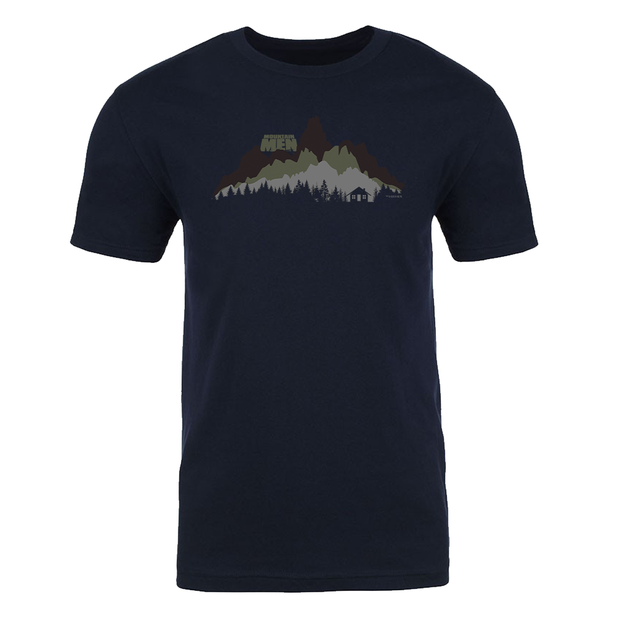 Mountain Men In The Wild Adult Short Sleeve T-Shirt