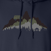 Mountain Men In The Wild Fleece Hooded Sweatshirt