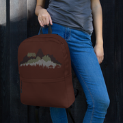 Mountain Men In The Wild Premium Backpack