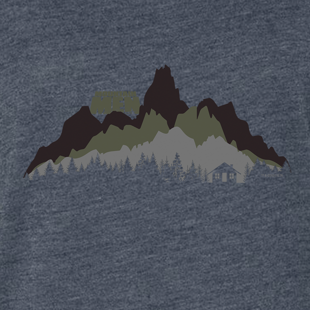 Mountain Men In The Wild Women's Tri-Blend Dolman T-Shirt