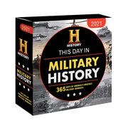 2021 History Channel This Day in Military History Boxed Calendar