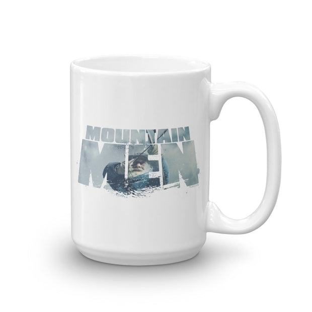 Mountain Men Tom Oar Logo White Mug